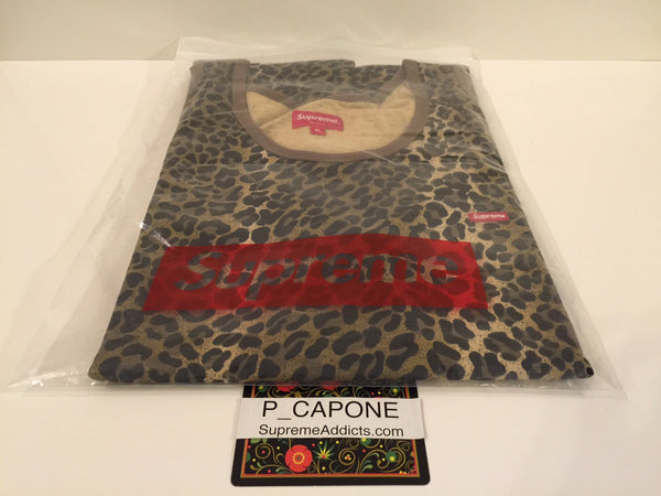 Supreme Leopard Tank Top