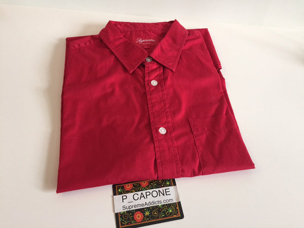 Supreme x Futura - Divide & Conquer Shirt - Red (2010)