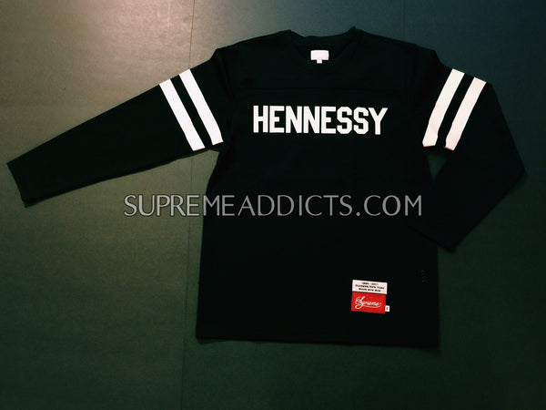 Supreme Hennessy Football Jersey Top - Black