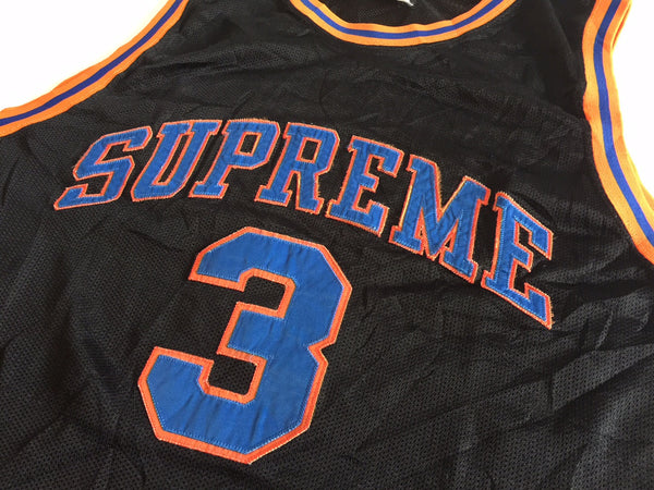 Supreme Knicks Ewing Basketball Jersey - Black