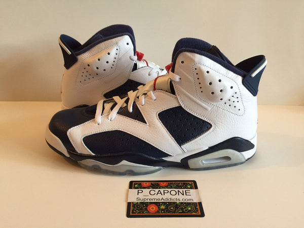 size 40 3793e deab2 Air Jordan 6 Retro - Olympic (2012) – SUPREME ADDICTS