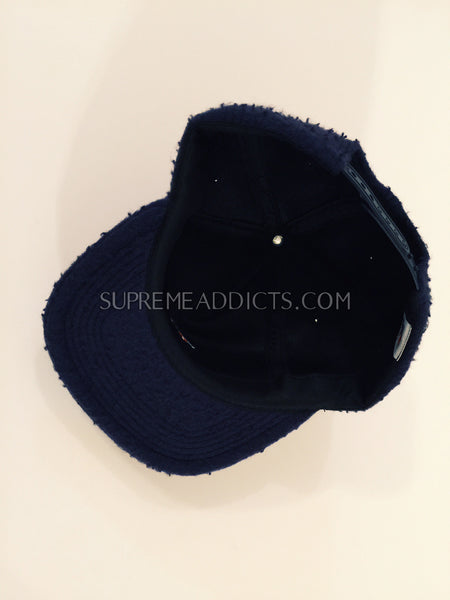 Noah Wool Teddy Hat - Navy