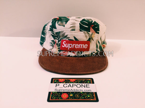 Supreme Floral Cap - Natural