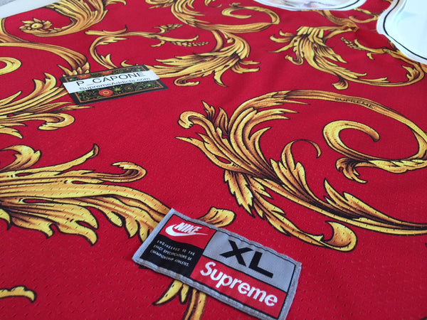 Supreme x Nike Foamposite Jersey - Red