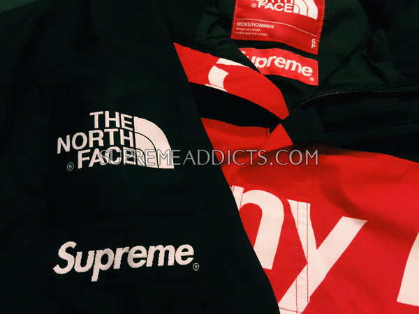 Supreme / The North Face Mountain Pullover - Red