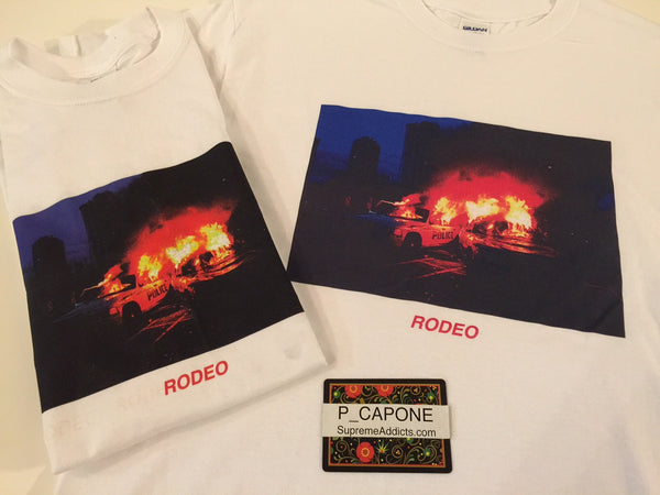 Travis Scott Rodeo Tour Tee - Police