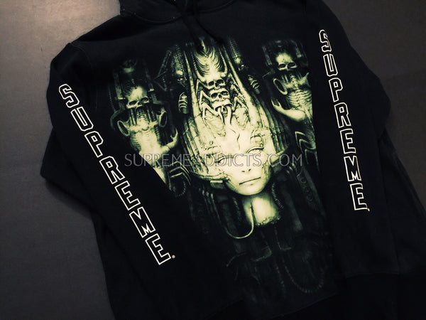 Supreme / H.R. Giger Hooded Sweatshirt