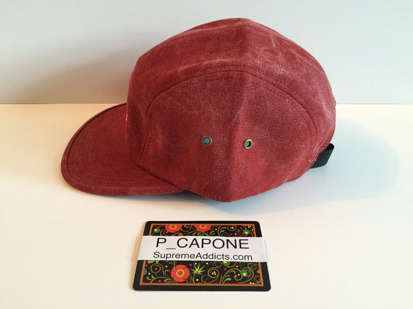 Supreme Stone Washed Canvas Cap