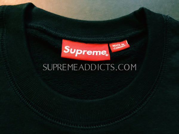 Supreme International Crewneck - Navy