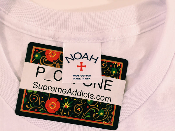 Noah Box Logo Tee - White