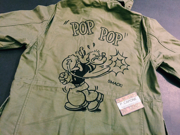 Supreme Popeye M-65 Military Jacket