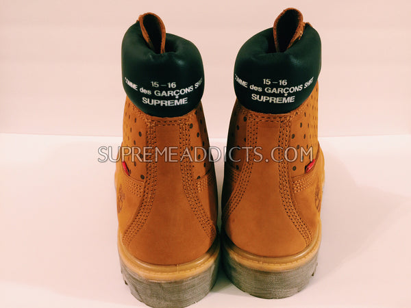 Supreme / CDG / Timberland 6-Inch Boot - Wheat