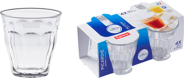 Supreme / Duralex Glass Cups - 4 Set