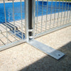 Metal Foot (to suit Temporary Pool Panel)