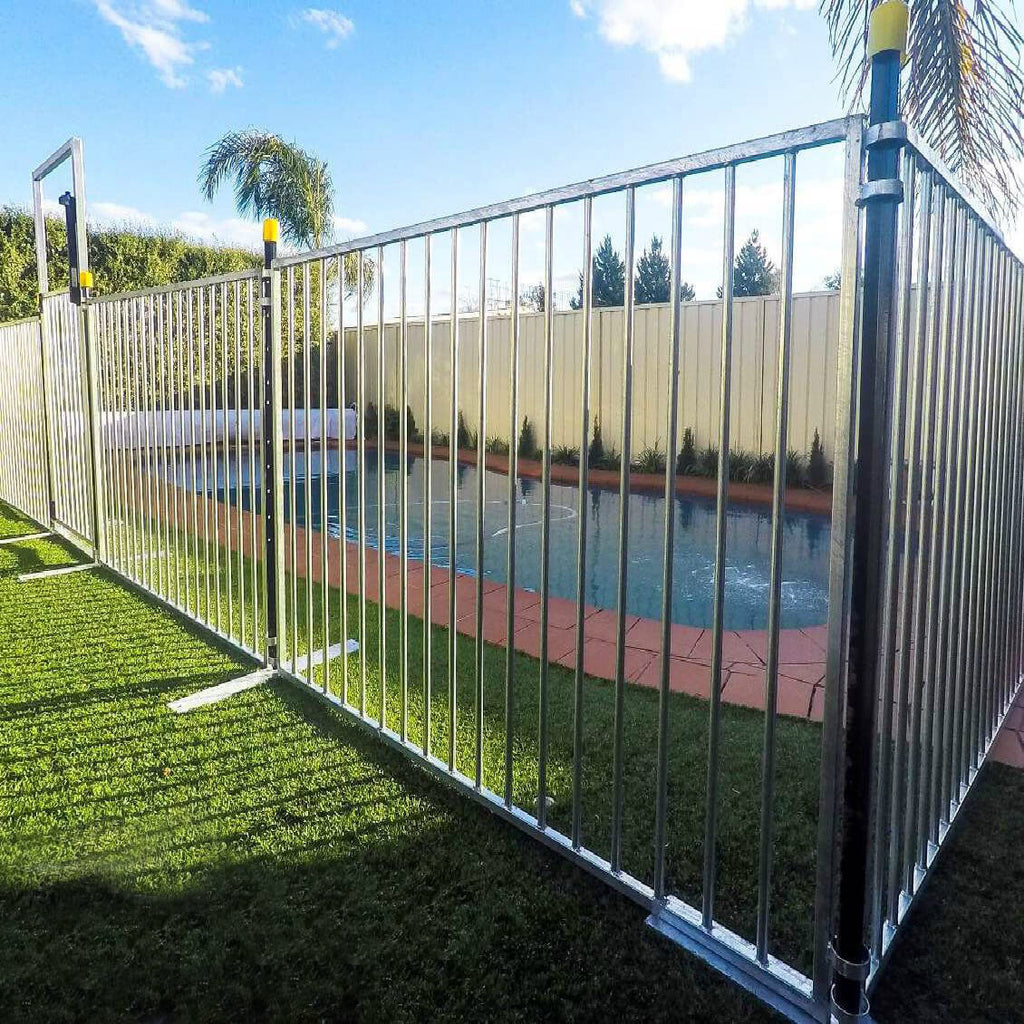Picture of: Temporary Pool Fence Panel For Sale Temp Fence Super Store
