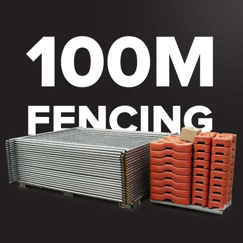100m Temporary Fencing (SMART) Pack