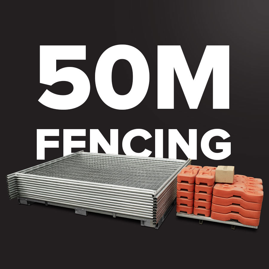 50m Temporary Fencing (SMART) Pack