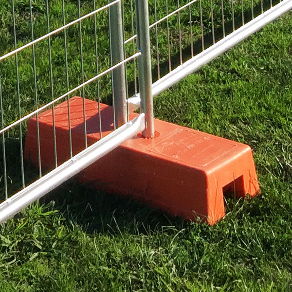Temp Fence Foot Concrete Filled Foot For Sale Temp