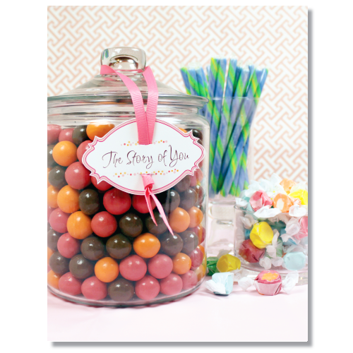 Candy Keepsake Album