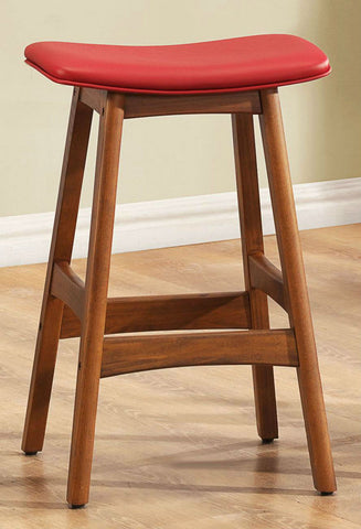 Counter Height Stool 188RD-24 Free Shipping - Pearl Igloo - 1