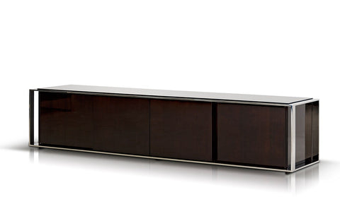 Modrest Noble Modern Ebony Lacquer Entertainment TV Center VGHB131F - Pearl Igloo - 1