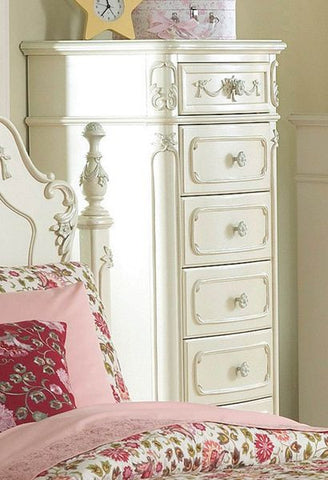 Cinderella 7-Drawer Tall Chest 1386-12 - Pearl Igloo - 1