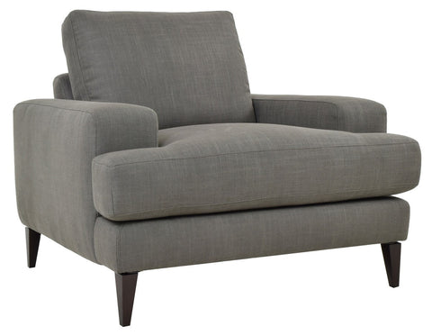 Manhattan Gray Brn Club Chair  2116CH11 - Pearl Igloo