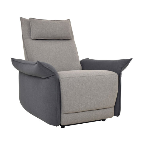 Aiden Recl Club Chair Two Tone SKU2121RE11 - Pearl Igloo