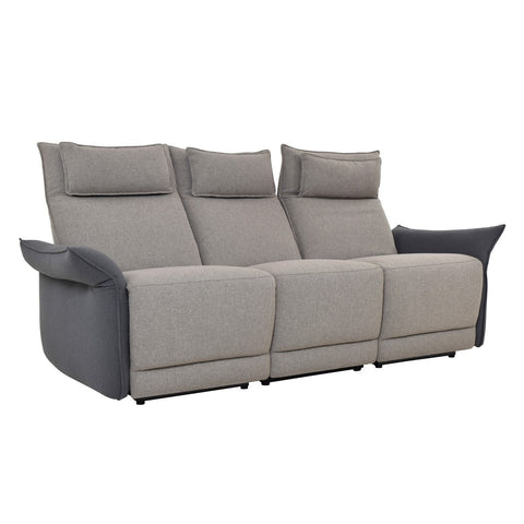 Aiden Recliner Sofa Two Tone SKU2121SF11 - Pearl Igloo