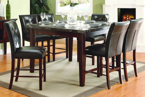 Decatur 5Pcs Counter Height Dining Set 2456 - Pearl Igloo - 1