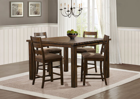 Ronan 5Pcs Counter Height Dining Set 2617N - Pearl Igloo - 2