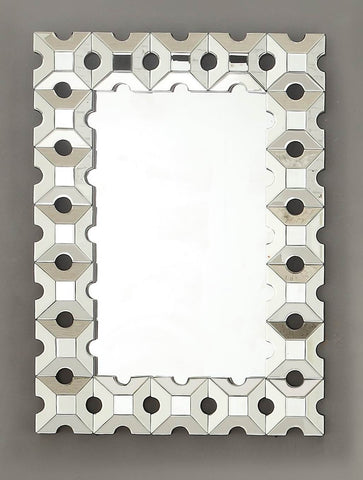 Reflective Wall Mirror 4634M Free Shipping - Pearl Igloo - 1