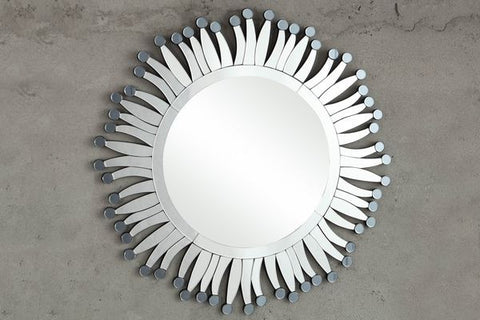 Reflective Wall Mirror 4645M Free Shipping - Pearl Igloo - 1