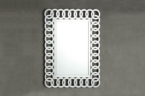 Reflective Wall Mirror 4673M Free Shipping - Pearl Igloo - 1