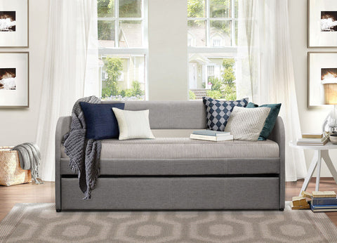 Roland Daybed with Trundle 4950GY - Pearl Igloo - 1