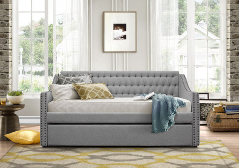 Tulney Daybed with Trundle 4966 - Pearl Igloo - 1