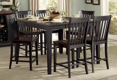 Three Falls 5Pcs Counter Height Dining Set 5023-36 - Pearl Igloo - 1
