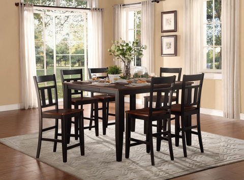 Westport 5Pcs Counter Height Dining Set 5079BK - Pearl Igloo - 1