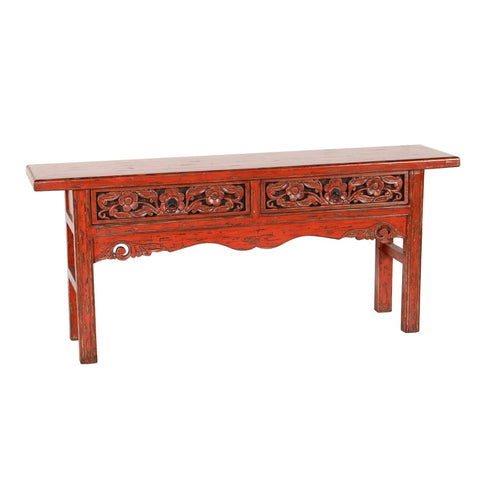 Fiona Console Antique Red Table SKU51030341 - Pearl Igloo