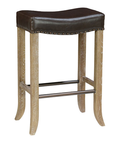 Camille Backless Choc Barstool 53005724 - Pearl Igloo - 1