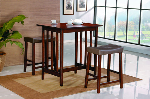 Scottsdale 3Pcs Counter Height Dining Set 5310C - Pearl Igloo - 1