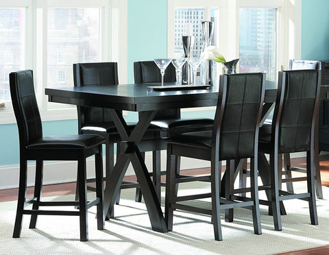 Sherman 5Pcs Counter Height Dining Set 5375 - Pearl Igloo