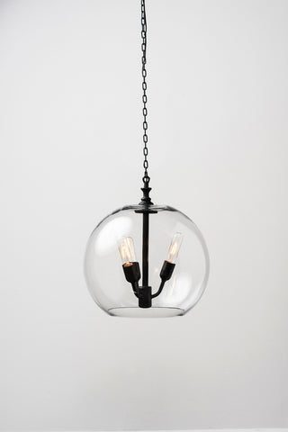 Ostend Glass Ball Pendant - 56003399 Free Shipping - Pearl Igloo - 1