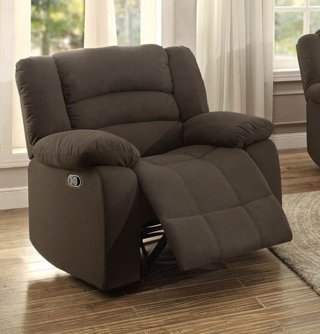 Greenville Collection Recliner Chair 8436CH-1N - Pearl Igloo