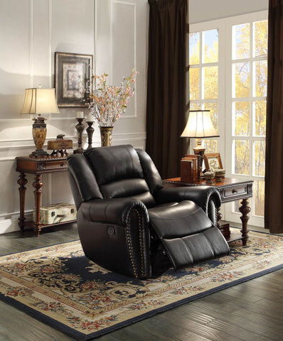 Center Hill Collection Power Reclining Chair 9668BLK-1PW - Pearl Igloo