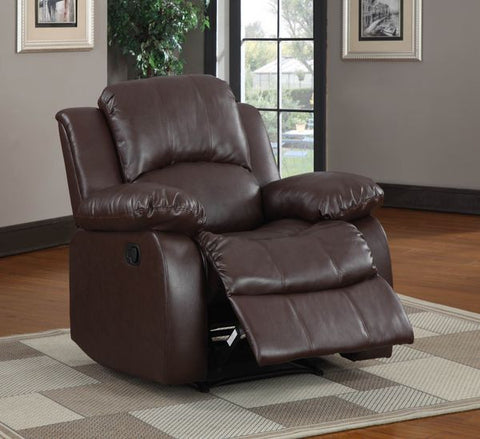 Cranley Collection Power Reclining Chair 9700BRW-1PW - Pearl Igloo