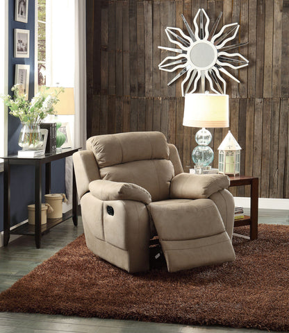 Marille Collection Glider Reclining Chair 9724TPE-1 - Pearl Igloo