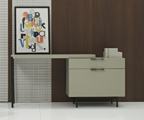 Angel Modern Office Desk SKU180741 - Pearl Igloo - 1