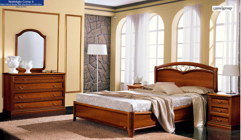 Curvo Fegio 4 Pcs Queen Bedroom Set - Pearl Igloo - 1