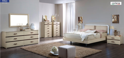 Altea 4 Pcs Queen Bedroom Set - Pearl Igloo - 1